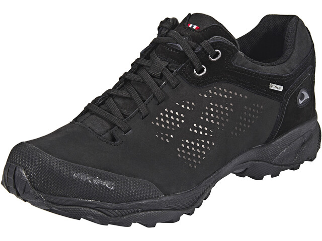 Viking Footwear Quarter III Leather GTX Shoes Unisex black/pewter